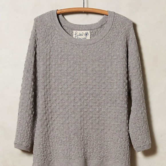 Anthropologie Sweaters - NWOT Anthropologie cashmere blend waffled pullover